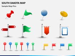 South Dakota Map PPT Slide 8