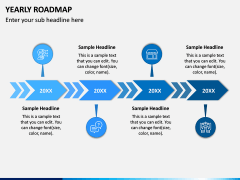 Yearly Roadmap PPT Slide 3
