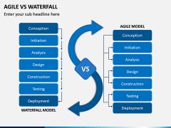 Agile vs Waterfall PPT Slide 1