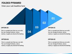 Folded Pyramid PPT Slide 4