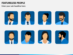 Featureless People PPT Slide 3