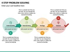 4 Step Problem Solving PPT Slide 4