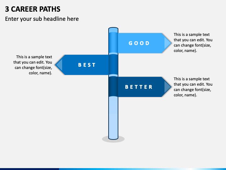 3 Career Paths PPT Slide 1