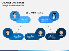 Creative Organizational Chart PPT Slide 10