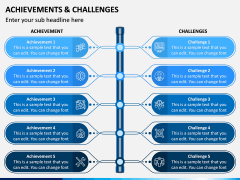 Achievements and Challenges PPT Slide 1