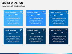 Course of Action PPT Slide 7