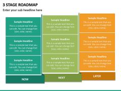 3 Stage Roadmap PPT Slide 4