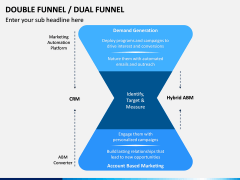 Double (Dual) Funnel PPT Slide 6