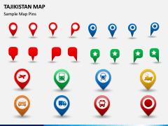 Tajikistan Map PPT Slide 5
