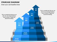 Staircase Diagram PPT Slide 2