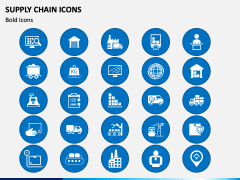Supply Chain Icons PPT Slide 2