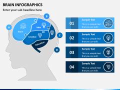 Brain Infographics PPT Slide 2