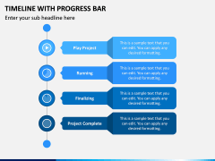 Timeline With Progress Bar PPT Slide 2