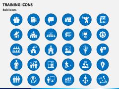 Training Icons PPT Slide 1