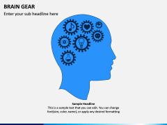 Brain Gear PPT Slide 2