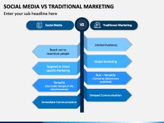 Social Media Vs Traditional Marketing PPT Slide 1