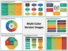 Project Communication Management Multicolor Combined