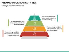 Pyramid Infographics – 4 Tier PPT Slide 2