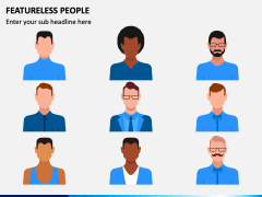 Featureless People PPT Slide 1