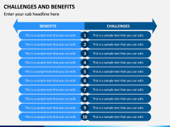 Challenges and Benefits PPT Slide 2