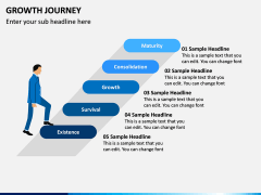 Growth Journey PPT Slide 5