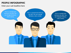 People Infographic PPT Slide 1
