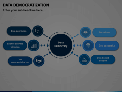 Data Democratization Animated Presentation - SketchBubble