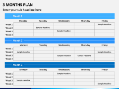 3 Months Plan PPT Slide 7