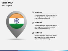 Delhi Map PPT Slide 5