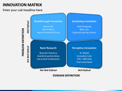 Innovation Matrix PPT Slide 3