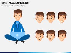Man Facial Expression PPT Slide 3