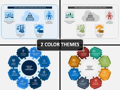 Digital Government PPT Cover Slide