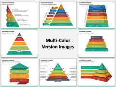 Leadership Pyramid Multicolor Combined