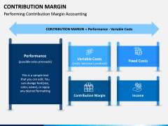 Contribution Margin PPT Slide 1
