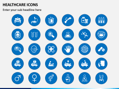 Healthcare Icons PPT Slide 2