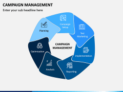 Campaign Management PPT Slide 1