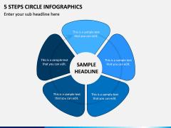 5 Steps Circle Infographics PPT Slide 1