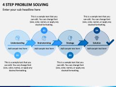 4 Step Problem Solving PPT Slide 1