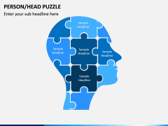 Head Puzzle PPT Slide 1