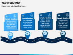 Yearly Journey PPT Slide 3