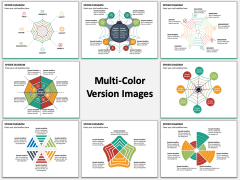 Spider Diagram Multicolor Combined