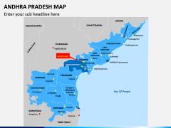 Andhra Pradesh Map PPT Slide 2