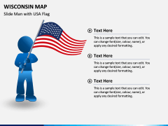 Wisconsin Map PPT Slide 7