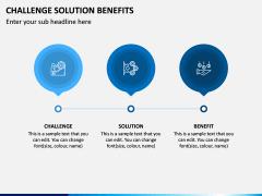 Challenge Solution Benefits PPT Slide 2