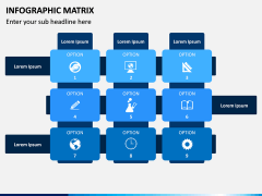 Infographic Matrix PPT Slide 3