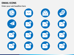 Email Icons PPT Slide 1