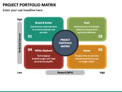 Project Portfolio Matrix PPT Slide 3