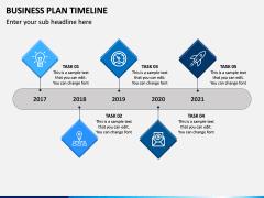 Business Plan Timeline PPT Slide 1