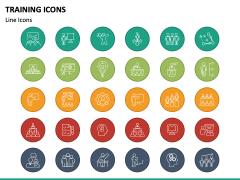Training Icons PPT Slide 4
