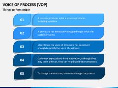 Voice of Process (VoP) PPT Slide 5